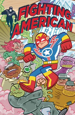 Fighting American #2 (Baltazar Cover)