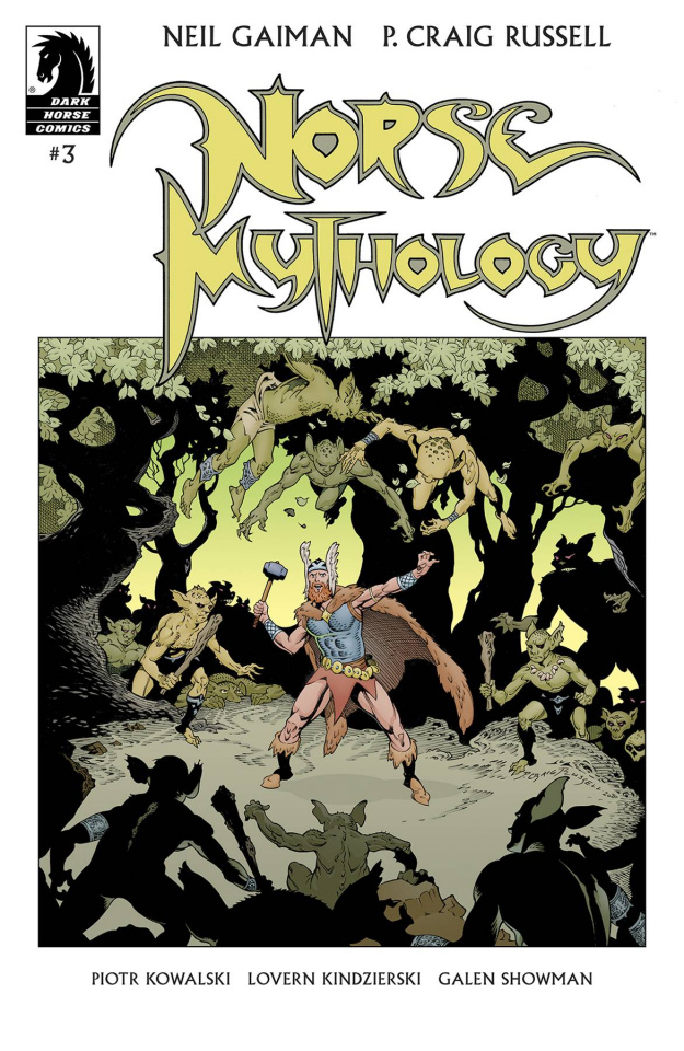 Norse Mythology #3 (Russell Cover)