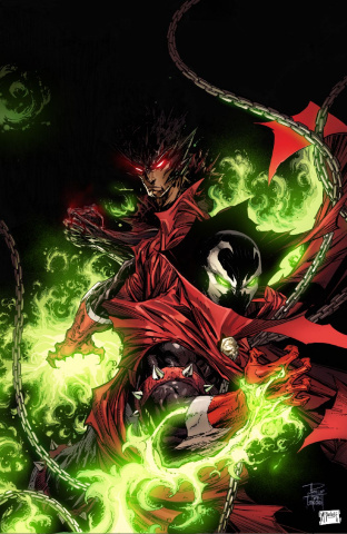 Spawn #306 (Virgin Tan & McFarlane Cover)