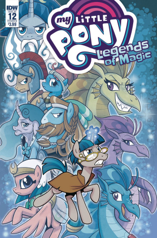 My Little Pony: Legends of Magic #12 (Hickey Cover)