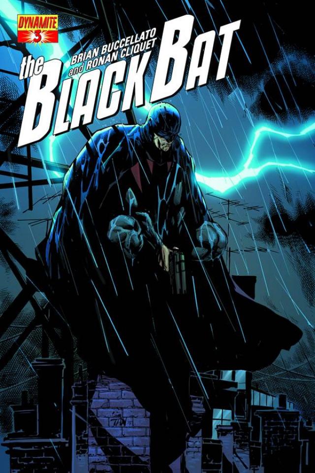 The Black Bat #3 (Tan Cover)