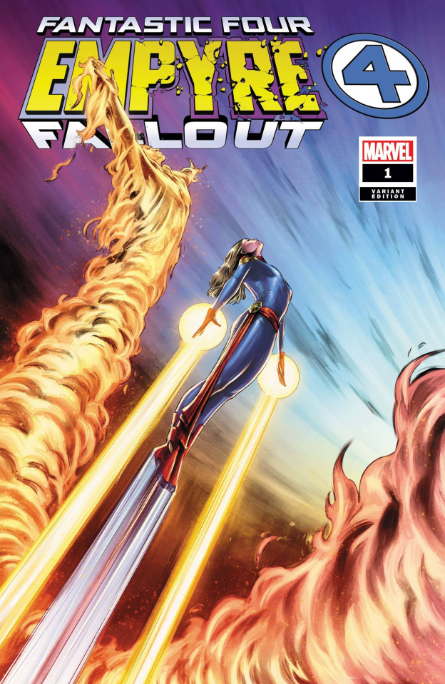 Empyre Fallout: Fantastic Four #1 (Carnero Cover)