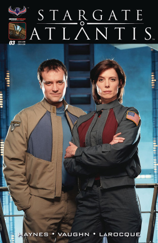 Stargate Atlantis: Back to Pegasus #3 (3 Copy Flashback Cover)
