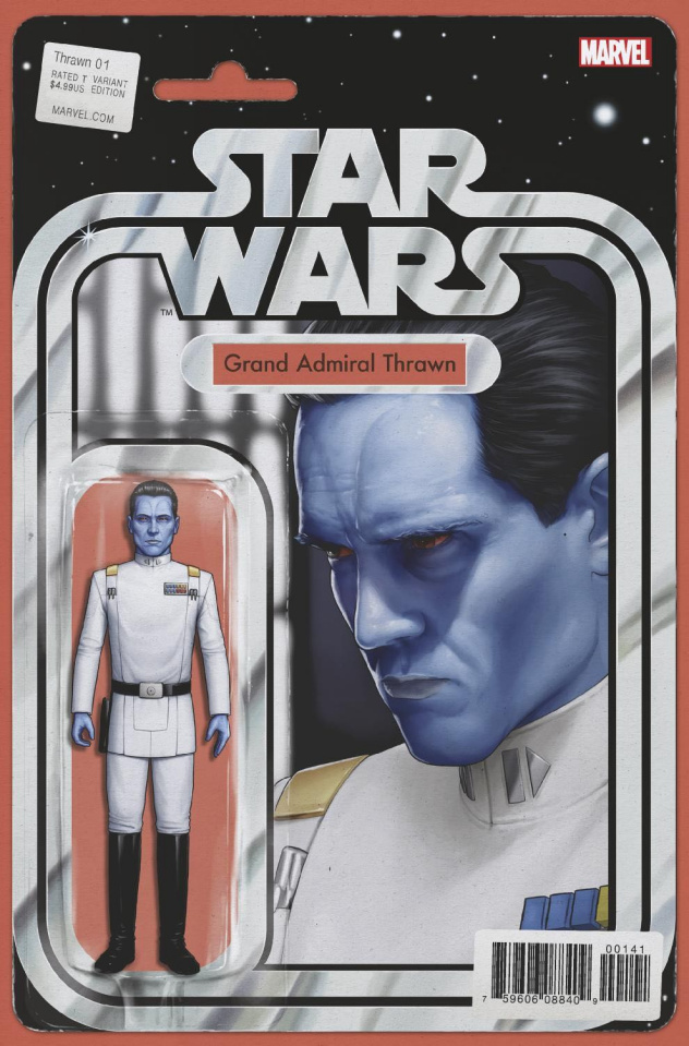 Star Wars: Thrawn #1 (Christopher Action Figure Cover)