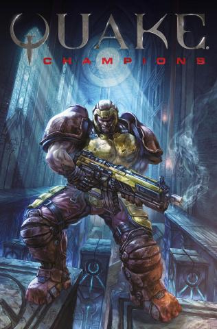 Quake: Champions #1 (Quah Cover)