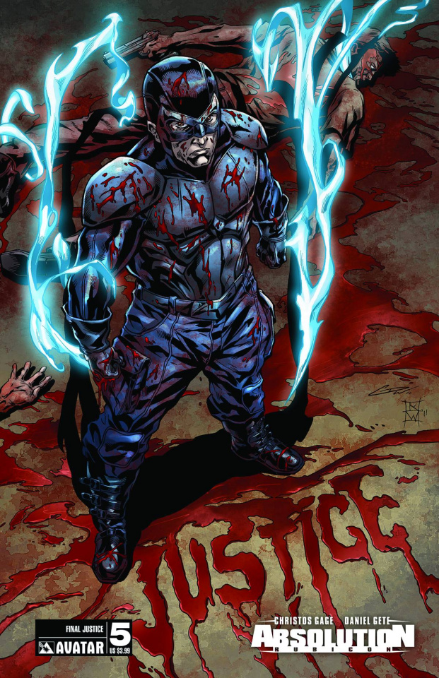 Absolution: Rubicon #5 (Final Justice Cover)