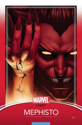Doctor Strange: Damnation #1 (Christopher Trading Card Cover)