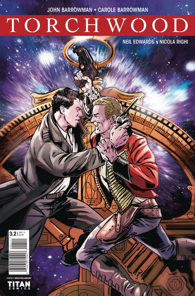 Torchwood: The Culling #2 (Williamson Cover)