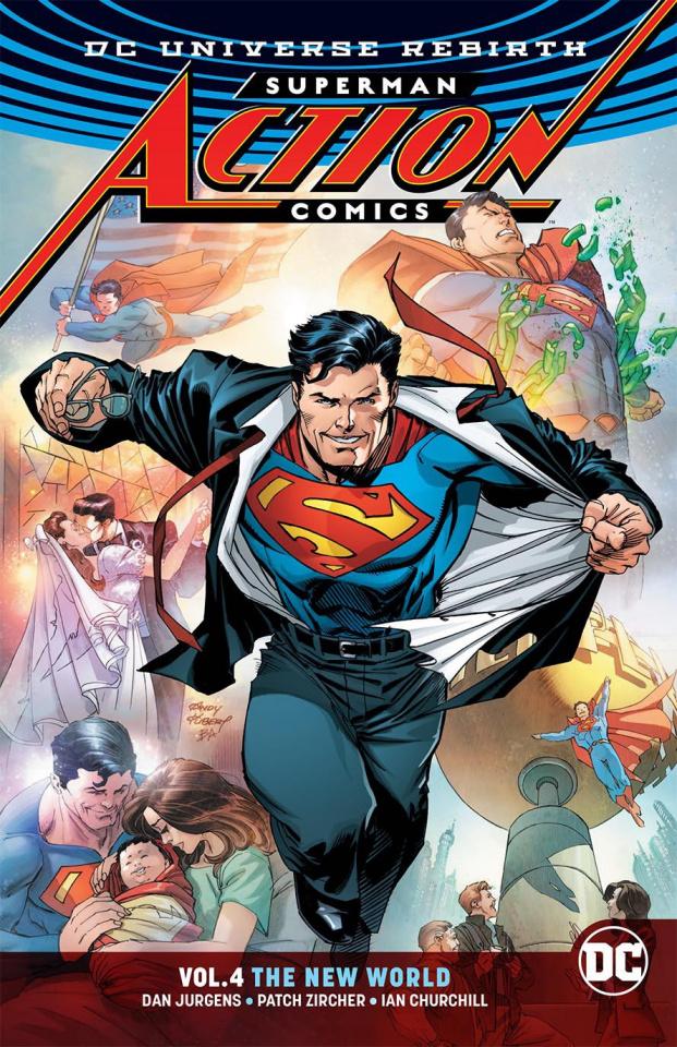 Action Comics Vol. 4: The New World (Rebirth)