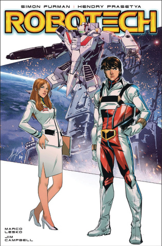 Robotech #18 (Prasetya Cover)