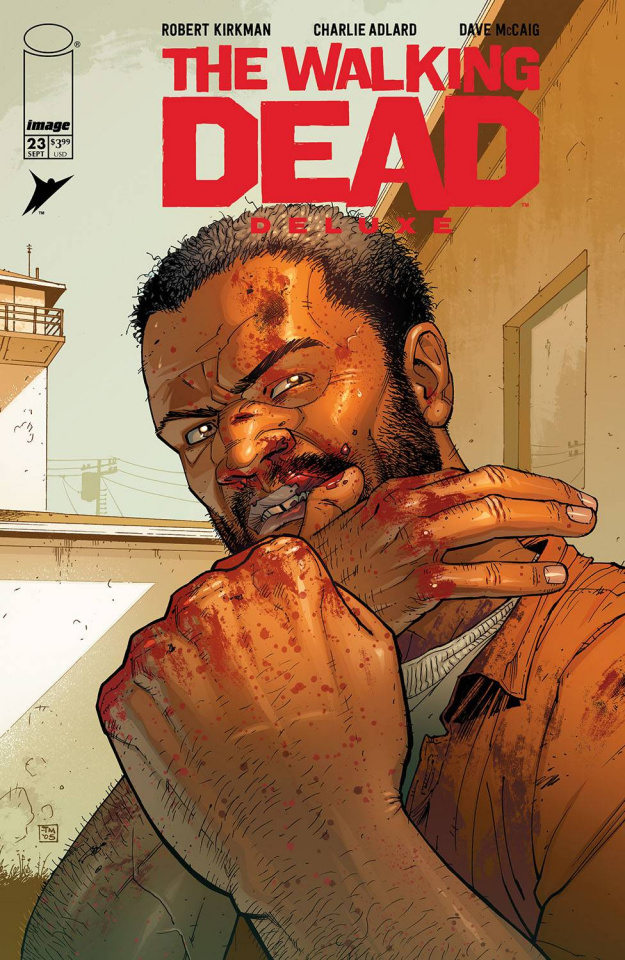 The Walking Dead Deluxe #23 (Moore & McCaig Cover)