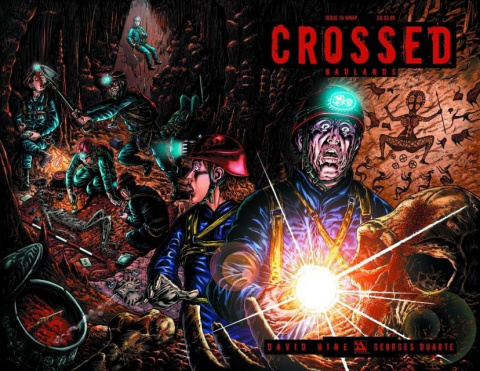 Crossed: Badlands #16 (Wrap Cover)