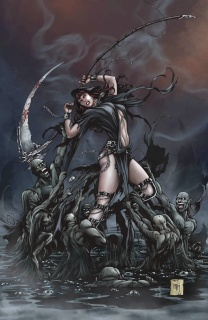 Grimm Fairy Tales: Death - 10th Anniversary Special #4 (Krome Cover)