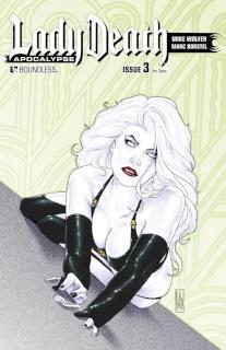 Lady Death: Apocalypse #3 (Art Deco Cover)