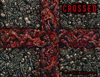 Crossed: Badlands #27 (Wrap Cover)