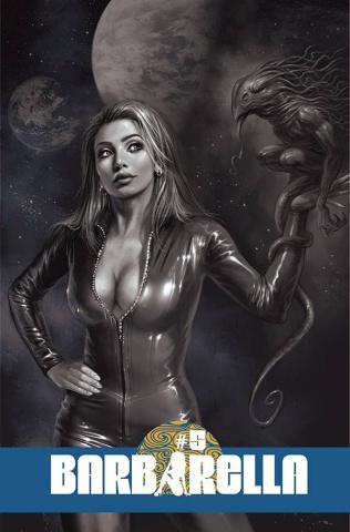 Barbarella #5 (10 Copy Parrillo B&W Cover)