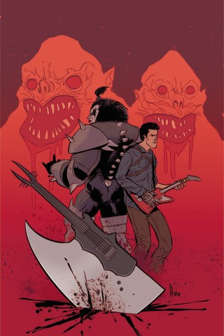 KISS / Army of Darkness #4 (20 Copy Montes Virgin Cover)