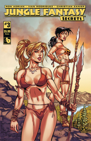 Jungle Fantasy: Secrets #3 (Vixens Cover)