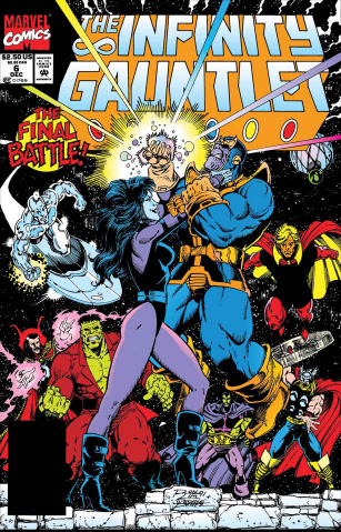 Avengers: Thanos' Final Battle #1 (True Believers)