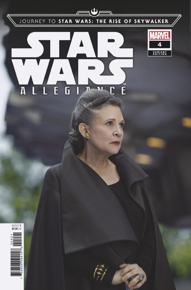 Journey to Star Wars: The Rise of Skywalker - Allegiance #4 (Movie Cover)