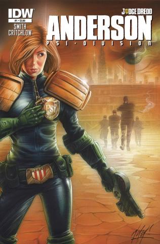 Judge Dredd: Anderson - Psi-Division #1