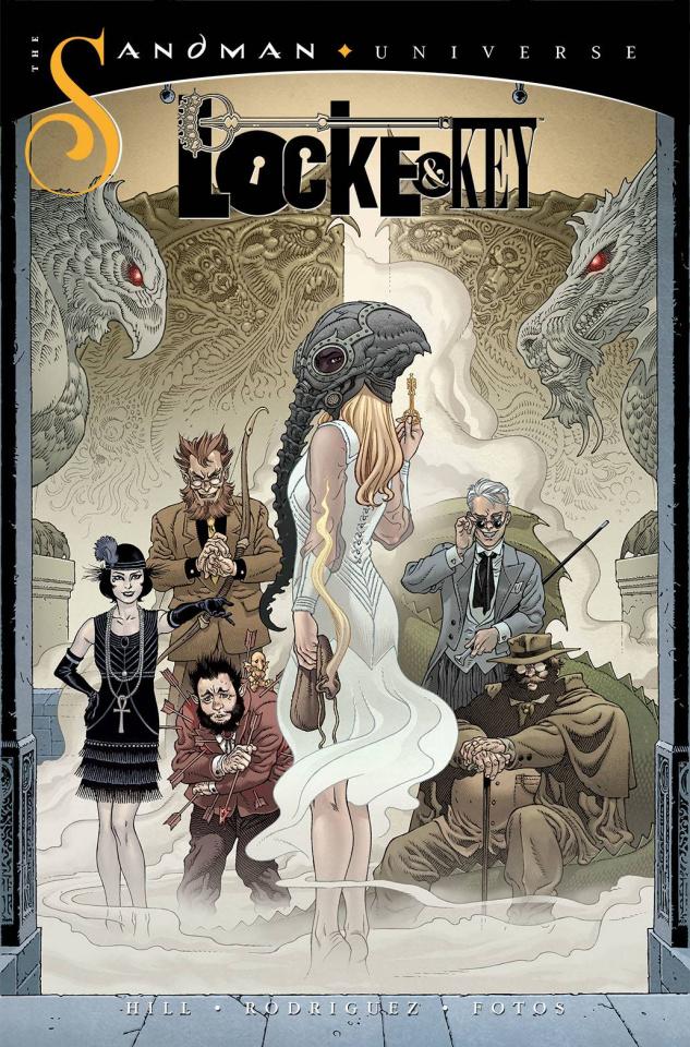 Locke & Key / Sandman: Hell & Gone #1 (Rodriguez Cover)