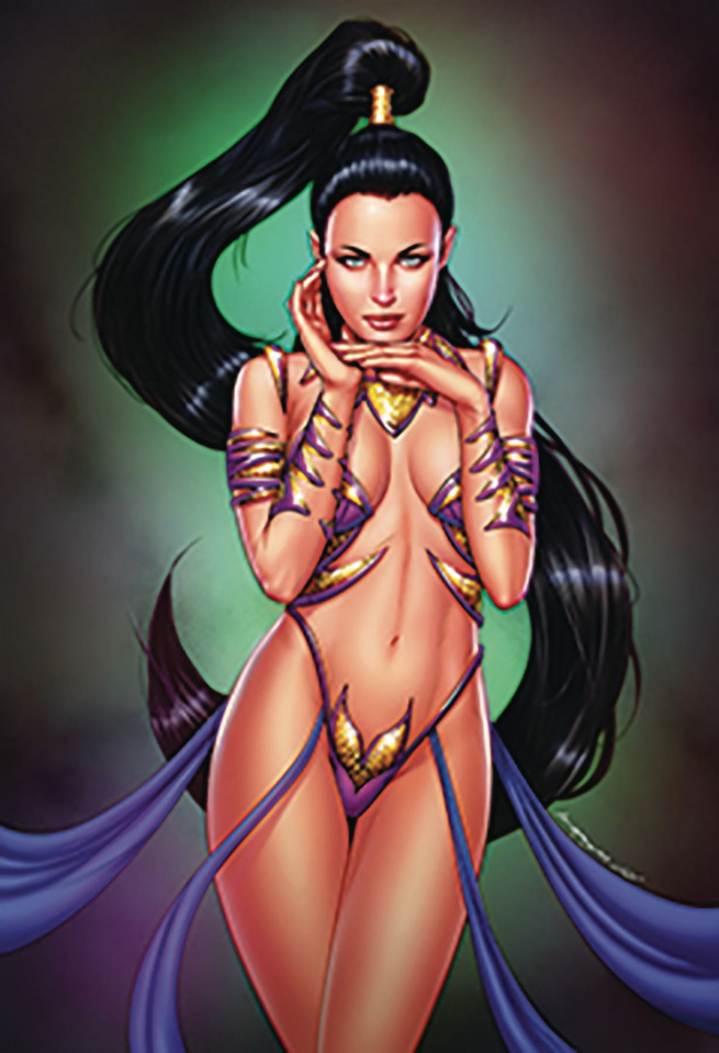 Jasmine: The Crown of Kings #1 (McCoy Cover)