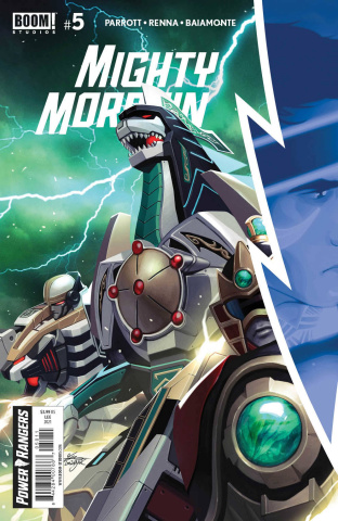 Mighty Morphin' #5 (Lee Cover)