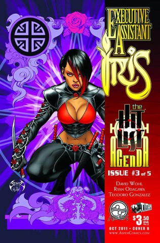 Executive Assistant Iris #3 (Benitez Cover)
