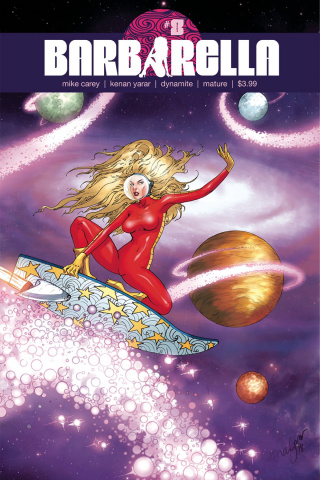 Barbarella #8 (Yarar Subscription Cover)