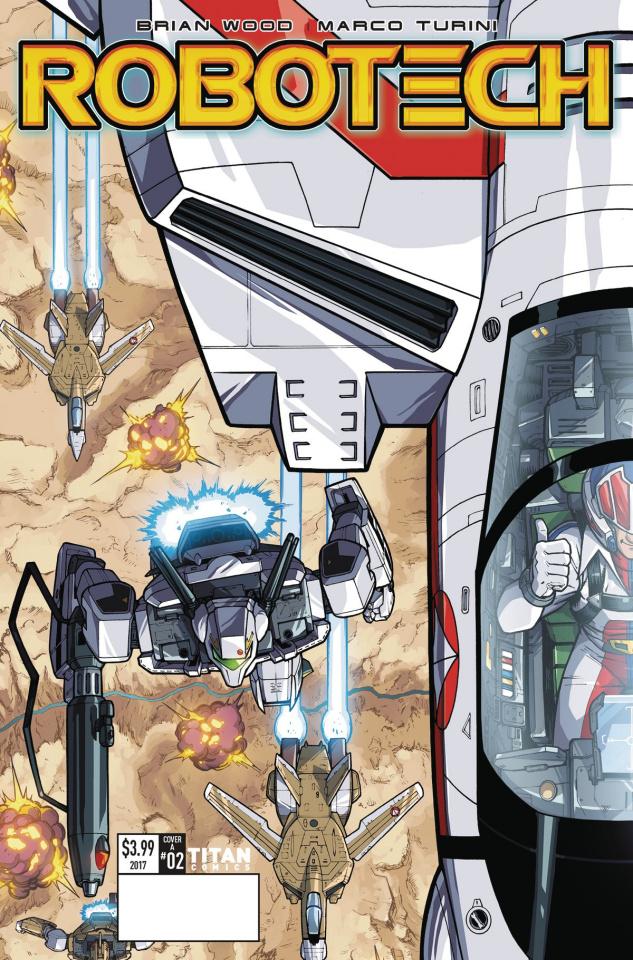 Robotech #2 (Roche Cover)