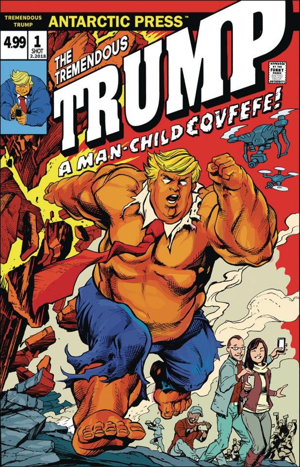 The Tremendous Trump: A Man-Child Covfefe!