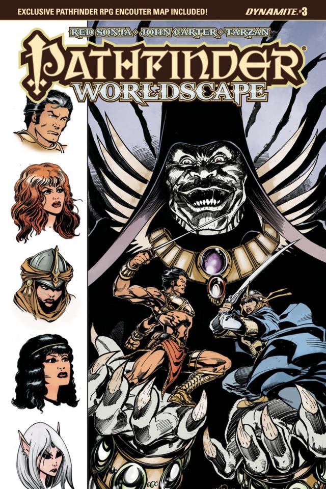 Pathfinder: Worldscape #3 (Mandrake Cover)