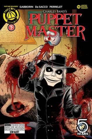 Puppet Master #15 (Mangum Kill Cover)