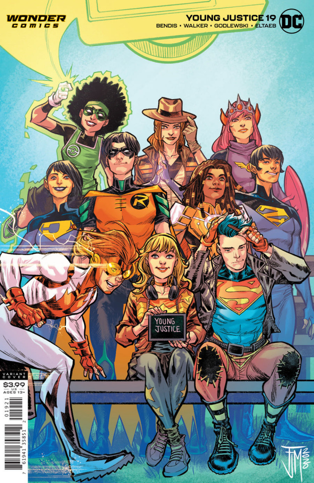 Young Justice #19 (Francis Manapul Cover)