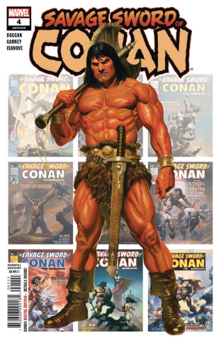 The Savage Sword of Conan #4