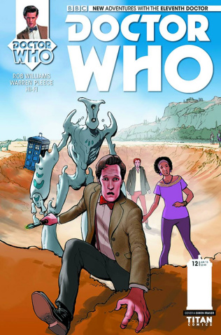 Doctor Who: New Adventures with the Eleventh Doctor #12 (Fraser Cover)