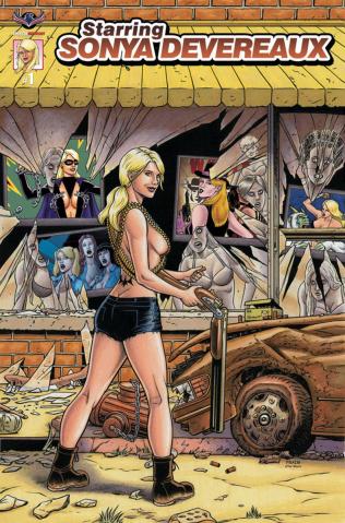 Starring Sonya Devereaux #1 (Movie Poster Cover)
