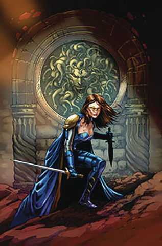Belle: Oath of Thorns #3 (Metcalf Cover)