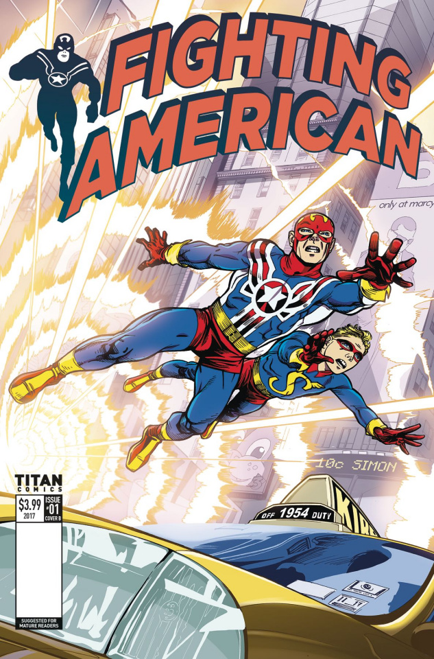 Fighting American #1 (Mighten Cover)