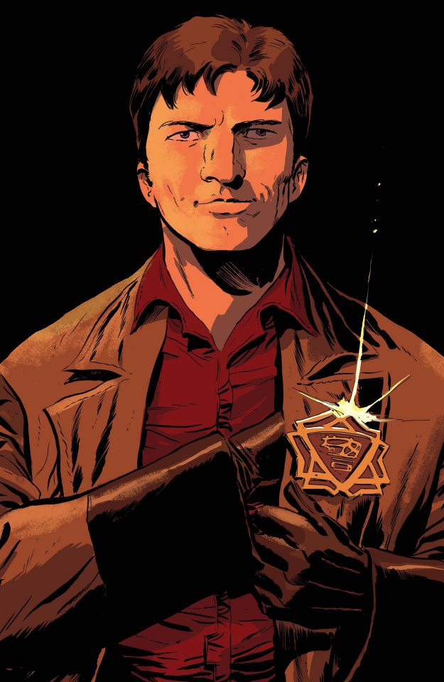 Firefly #15 (McDaid Cover)