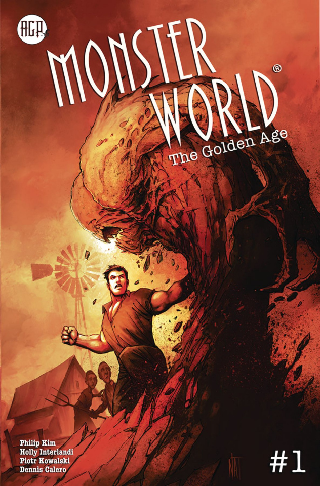 Monster World: The Golden Age #1 (Nat Jones Cover)