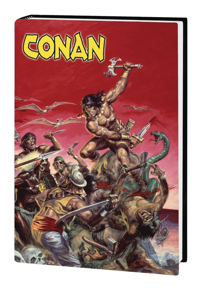 The Marvel Art of The Savage Sword of Conan