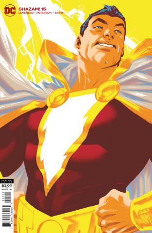Shazam! #15 (Francis Manapul Cover)