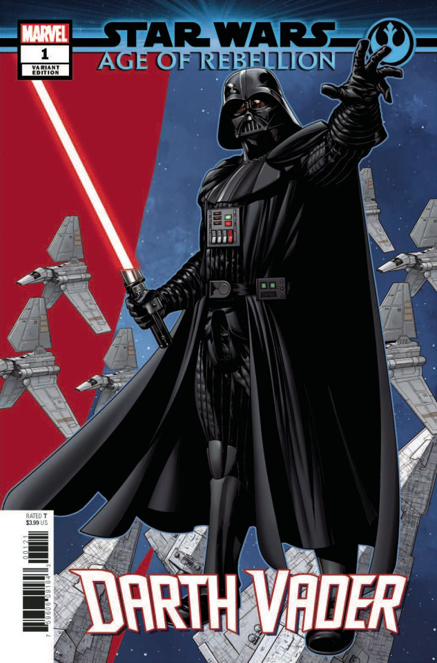 Star Wars: Age of Rebellion - Darth Vader #1 (McKone Puzzle Cover)