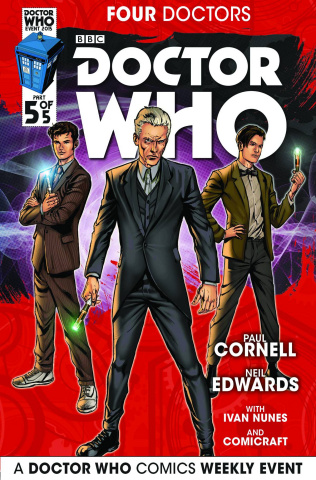 Doctor Who: Four Doctors #5 (Edwards Cover)