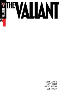 The Valiant #1 (Blank Cover)