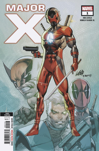 Major X #1 (Liefeld 3rd Printing)