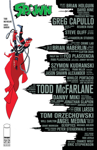 Spawn #312 (McFarlane Cover)