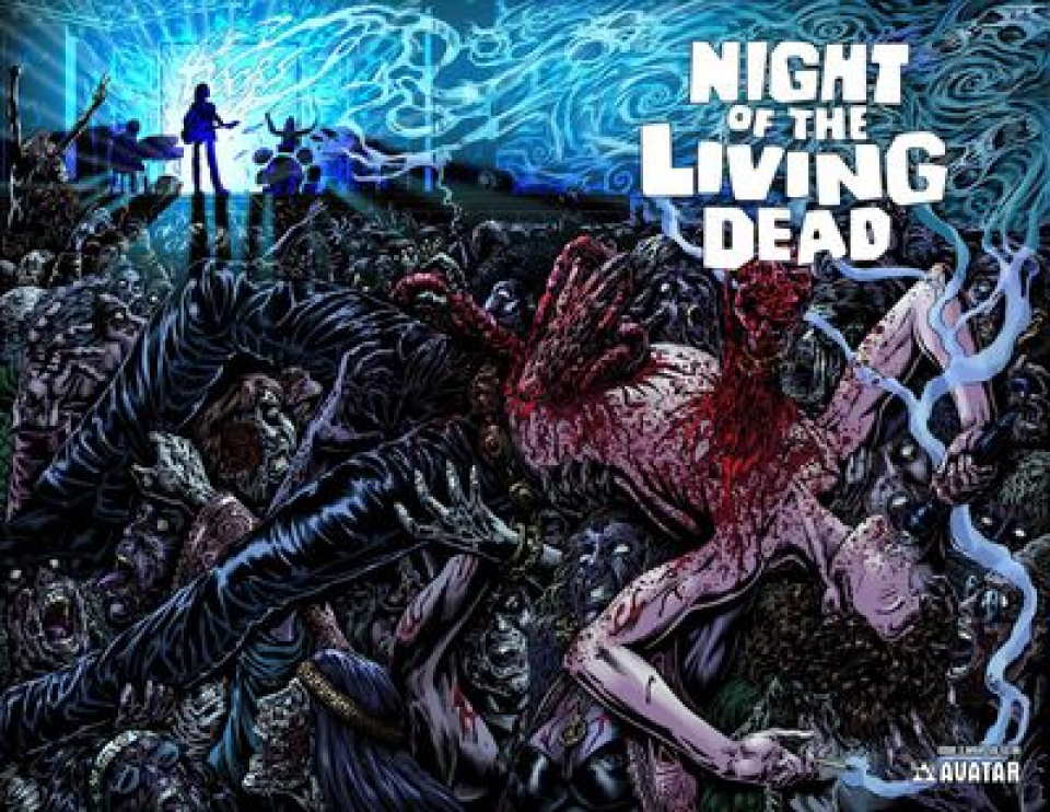 Night of the Living Dead #3 (Wrap Cover)